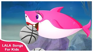 Baby Shark Song | Baby Shark Play Basketball | Rhymes Songs For Kids