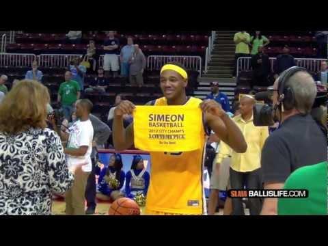 Marquette-bound Steve Taylor Official BALLISLIFE Senior season mixtape! Simeon 3-Time State Champs