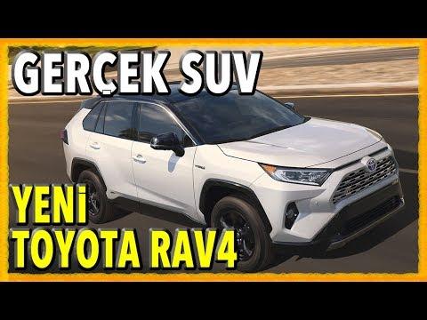 ŞEHİRLİ CROSSOVERLARDAN SIKILANLARA (Yeni Toyota RAV4 Ne Zaman Türkiye'de?)