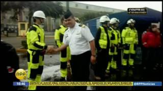 RPP TV: Marina de Guerra llega al siniestro de Cercado de Lima