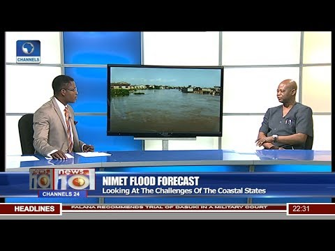 News@10: Geographer Urges States To Abide By NIMET Flood Report 10/06/17 Pt.2