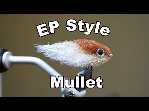 EP Finger Mullet - UNDERWATER FOOTAGE! - McFly Angler Fly Tying Tutorials