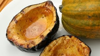 Sweet & Spicy Grilled Acorn Squash Recipe