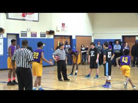 AAE and Two Rivers Boys Middle School CREC 2015 Basketball Championship