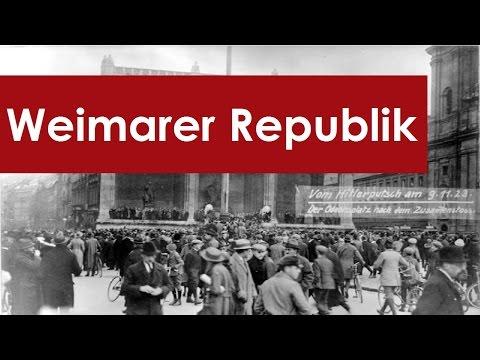 Weimarer Republik Zusammenfassung