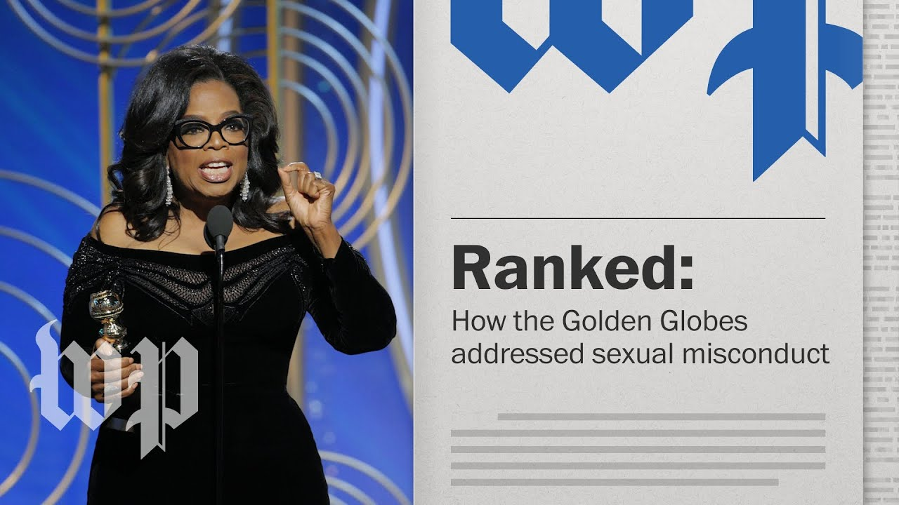 Opinion | Ranked: How the Golden Globes took on sexual misconduct
