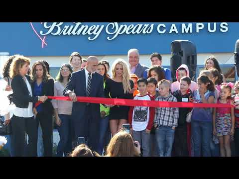 Doing Good! Britney Spears Opens Children's Cancer Foundation Campus in Las Vegas After