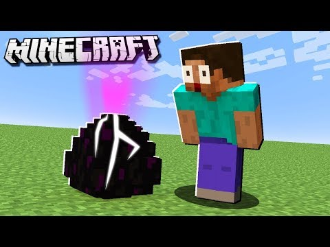 Thumbnail: How to HATCH THE ENDER DRAGON EGG in Minecraft!