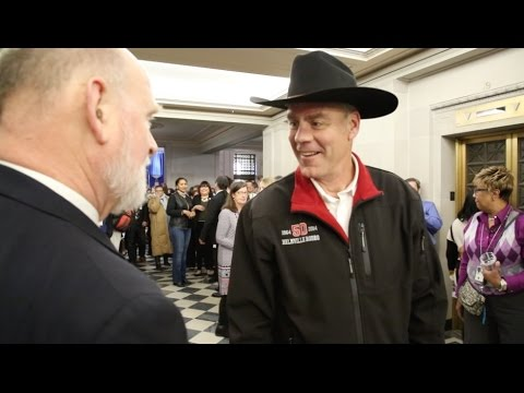 Secretary Zinke Arrives at Interior