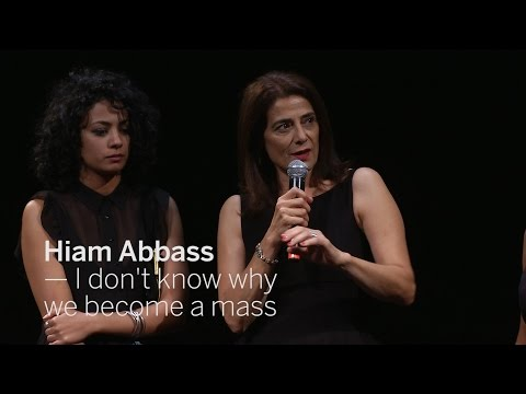 HIAM ABBASS I don't know why we become a mass  TIFF 2016