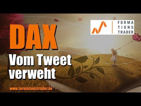 Analyse Dax: Vom Tweet verweht