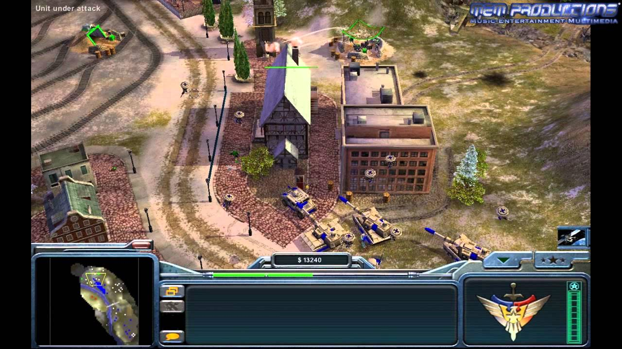 command and conquer generals mac zoom