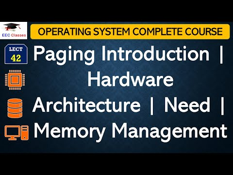 PAGING Introduction   Hardware Architecture of Paging - Operating System Classes for IP University