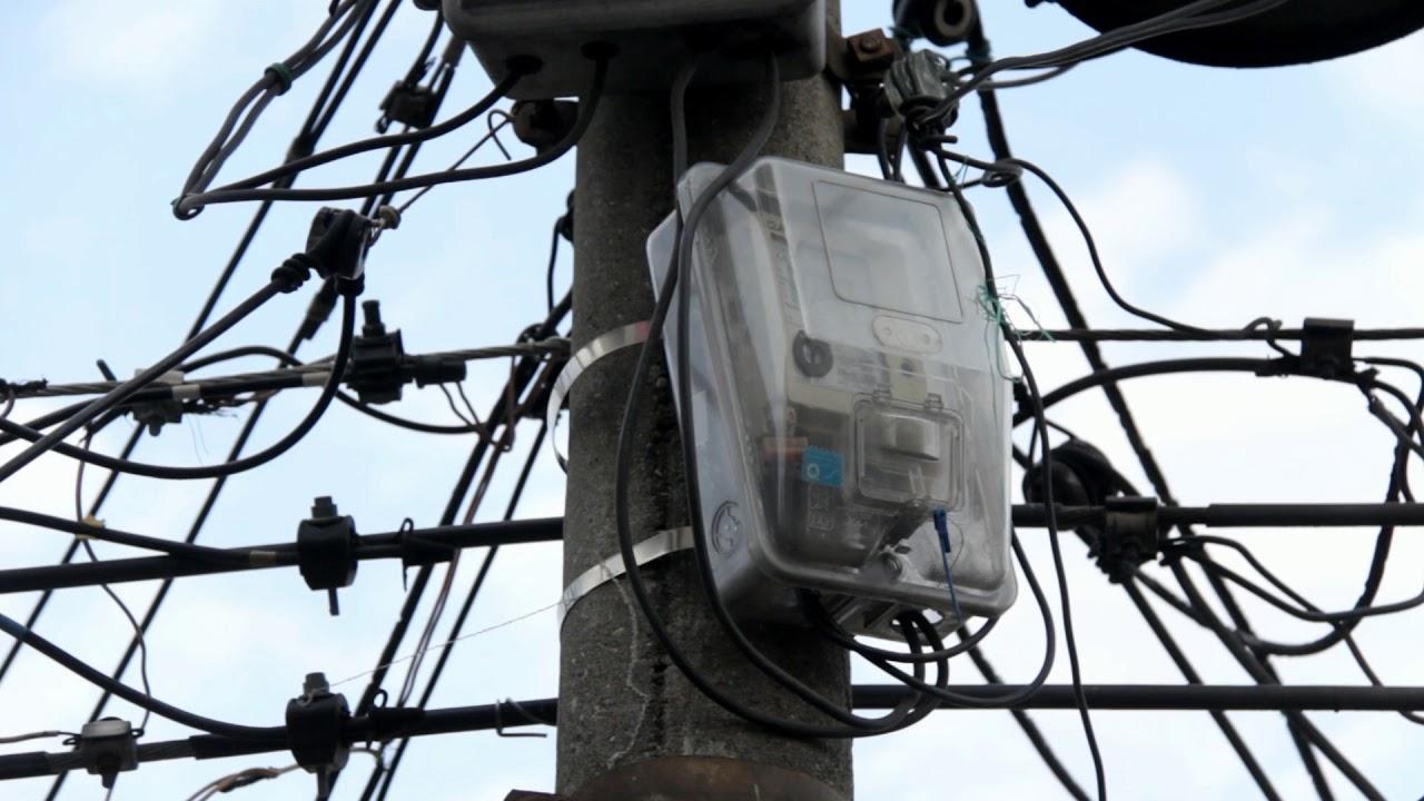 Utility Box On Telephone Pole