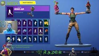 My FortNite account showcase (dances,skins)   MAUI GR