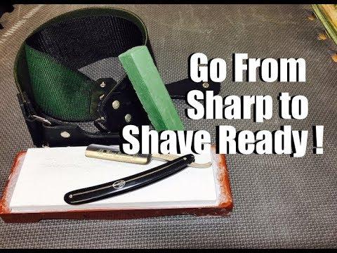 Straight Razor - Go From Sharp To Shave Ready !