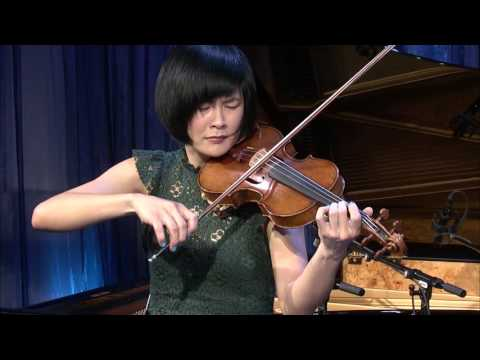"Jennifer Koh Performs Esa-Pekka Salonen's 'Lachen Verlernt' (""Laughing Unlearnt"")"