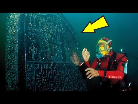 5 Strangest Things Found Underwater!