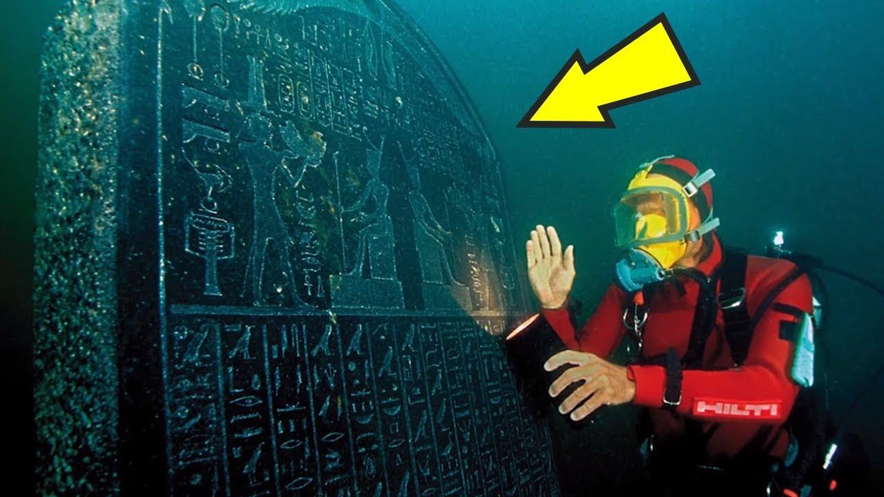 5 Strangest Things Found Underwater! - YouTube