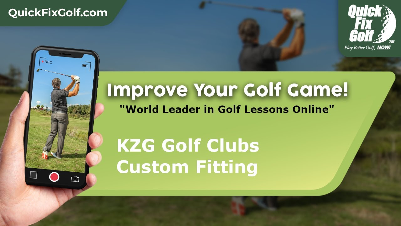 Golf Class Online Golf Club Fitting with KZG