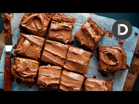 Rich Chocolate Frosted Brownies