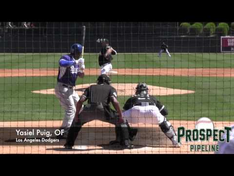 Yasiel Puig, OF, Los Angeles Dodgers, Home Run vs White Sox