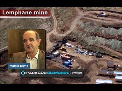 Paragon's Doyle confident about mining lease agreement in Lesotho