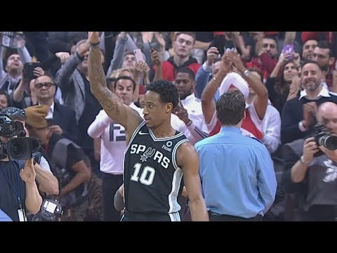 DeMar DeRozan Returns Toronto! Kawhi Clutch Steal Dunk! 2018-19 NBA Season