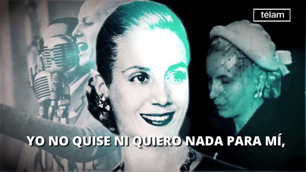 A 102 años del nacimiento de Eva Duarte