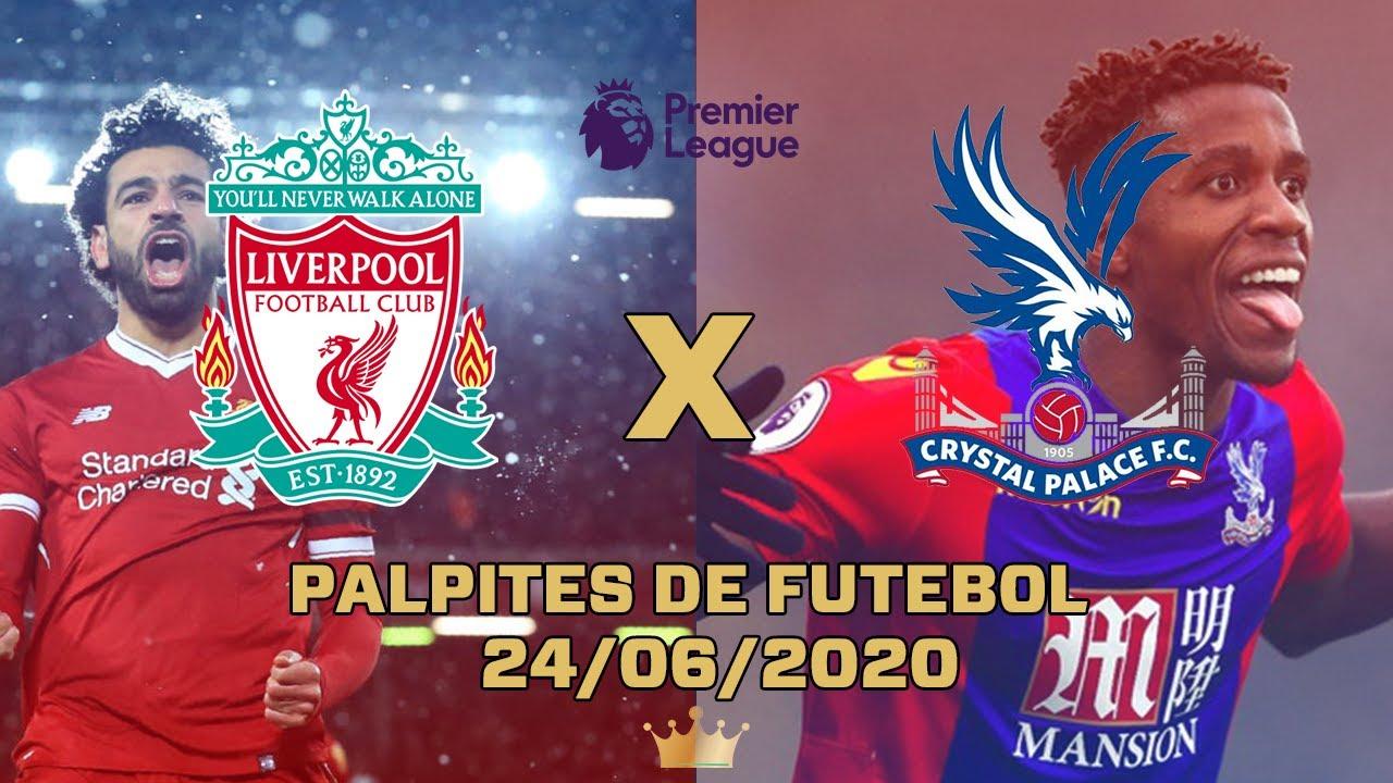 Palpites de Futebol quarta 24/06/2020