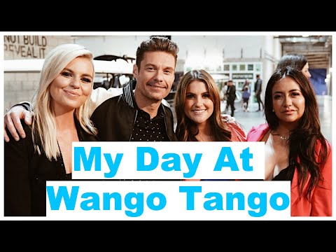 Ryan Seacrest - Go Behind-the-Scenes Wango Tango 2019 With Sisanie!