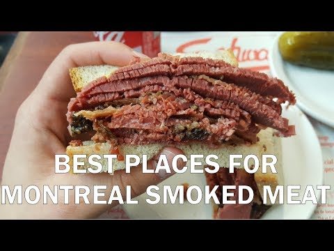 The Best Montreal Smoked Meat? | Review of Schwartz's, Main Deli & Rubens