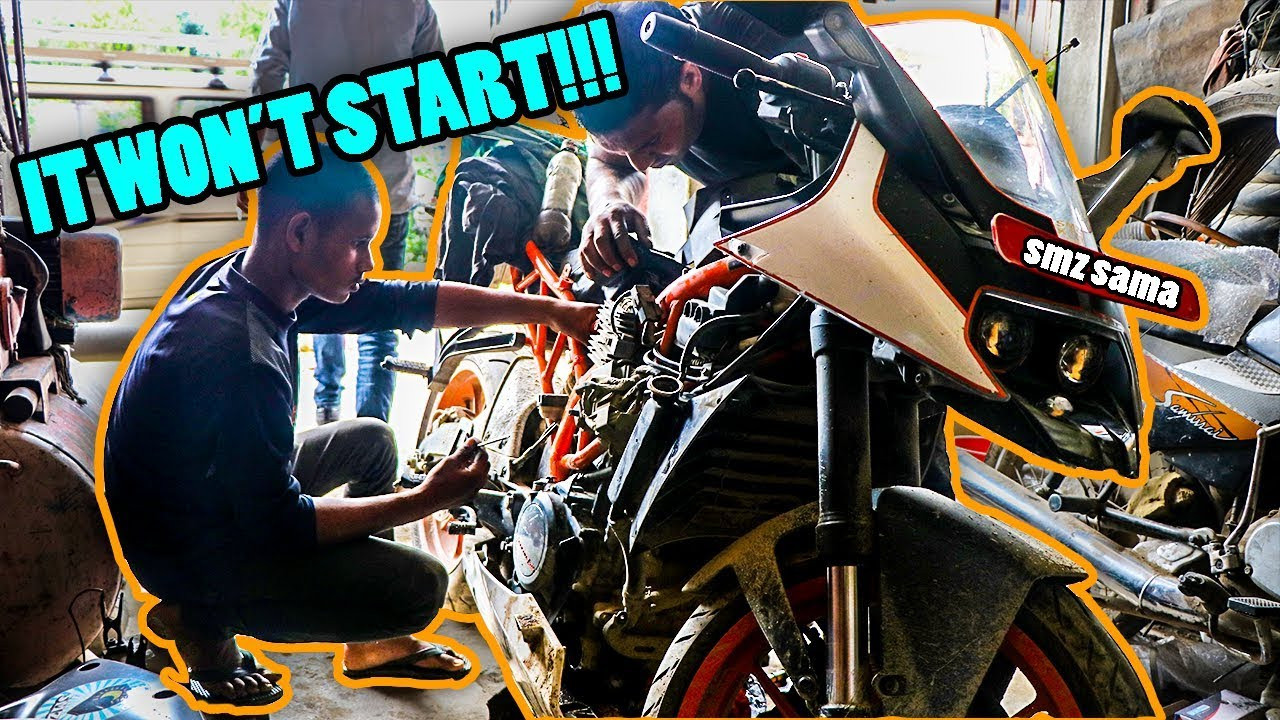 my rc 390 won't start | another issue with my bike | motovlog
