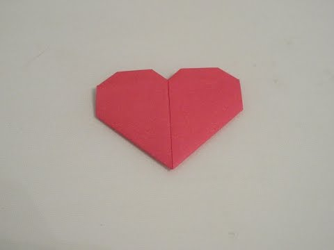Сердце из бумаги!  (Origami - Heart)