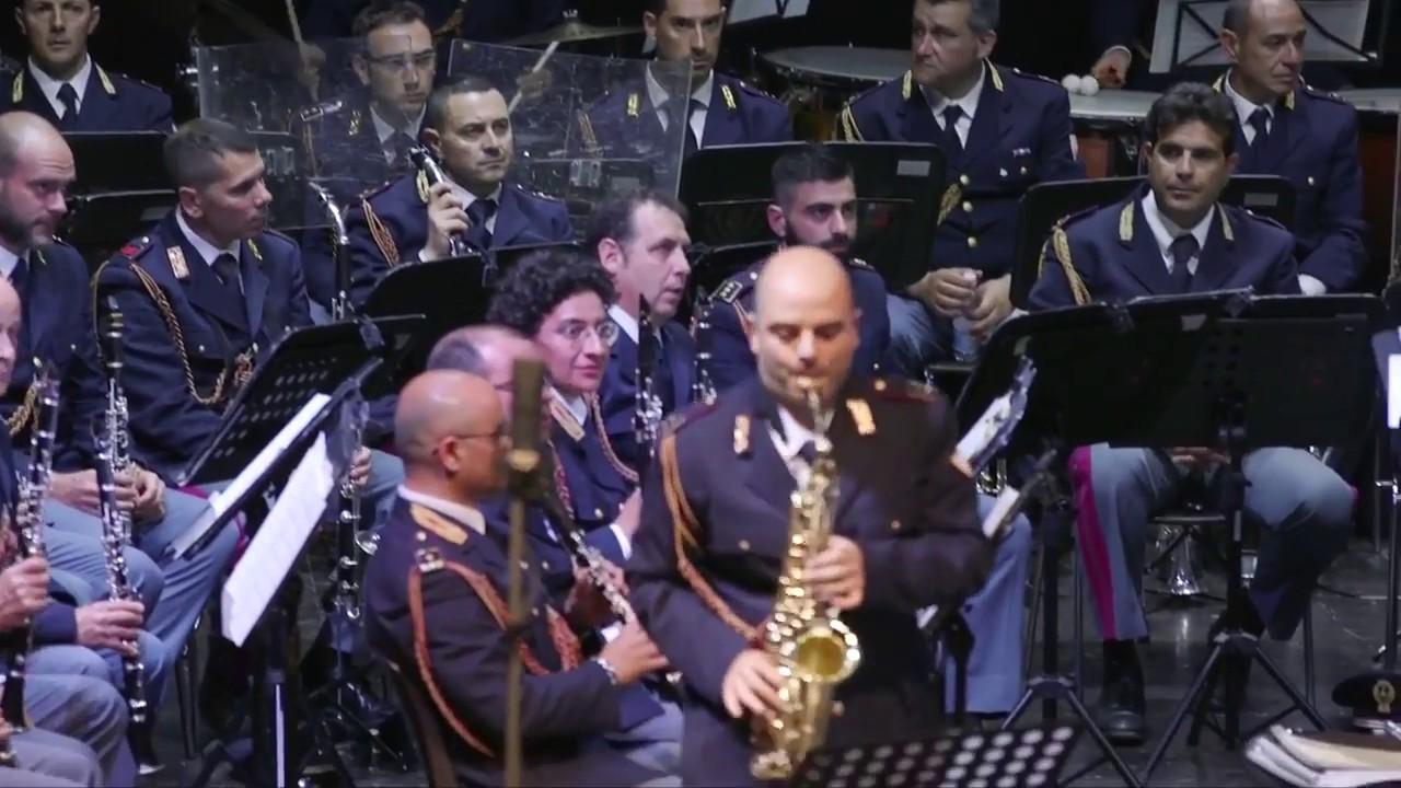 Otto M.SCHWARZ - Saxpack - National Police Winds Orchestra - Mario Ciaccio