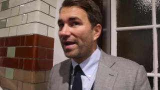 CHISORA v WHYTE IS ON!!! / CHISORA HANDED 2-YEAR SUSPENDED SENTENCE FROM BOARD - EDDIE HEARN