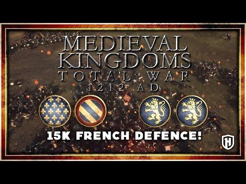 15000 MAN EPIC FRENCH DEFENCE | Burgundy & France v Kingdom of Sweden 1212 AD Mod Gameplay