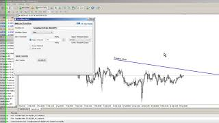 How to receive alerts when price touches a trendline in #MetaTrader 4