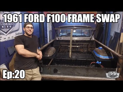 1961 Ford F100 - Full Frame Swap - Project Black Sheep, Grand Marquis Frame Swap Ep:20