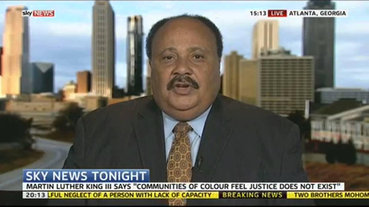 Martin Luther King III On Ferguson Unrest - YouTube