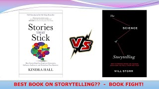 BEST BOOK ON STORYTELLING?? BOOK FIGHT!!! STORIES THAT STICK Vs THE SCIENCE OF STORYTELLING.