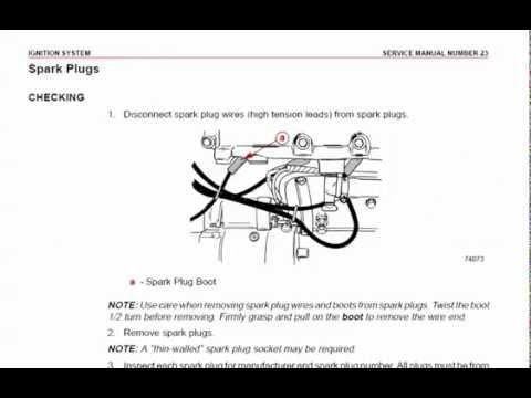 Mercruiser Wiring Diagram 5 0 Circuit Of Solar Power System Mercury Gm V8 Marine Engine Service Manual - Youtube