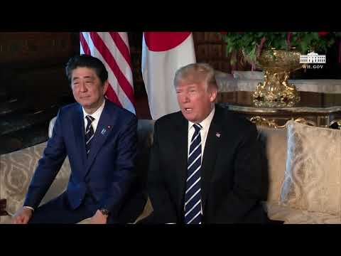 President Donald Trump has VITAL Press Conference with Japanese Prime Minister Shinzo Abe