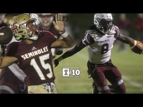 Week 3: Madison County vs Florida High - FSU Commit Travis Jay Puts on a Show!