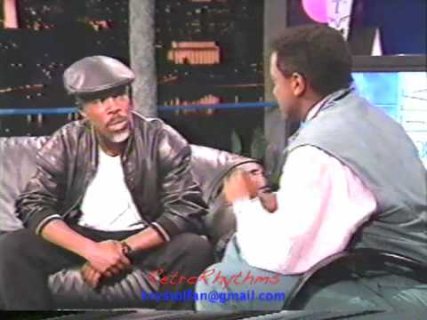 Billy Ocean Video Soul 1989 Interview (Part One)