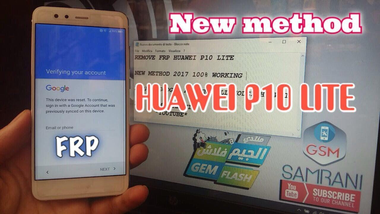 Huawei P10 Lite Was Lx1a Remove Google Account Android 70 New Method