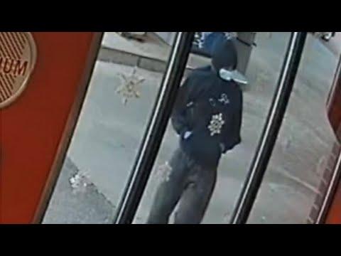 Surveillance video of Mississauga mass shooting suspect
