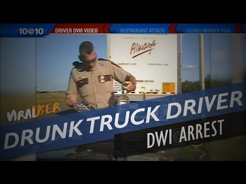 DRUNK WAL-MART TRUCKER ARRESTED FOR DWI...