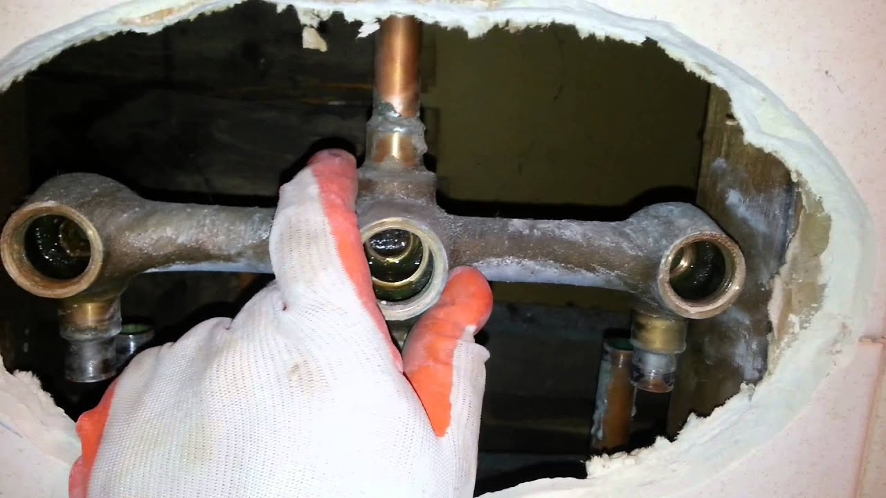 Shower Valve Replacement - YouTube