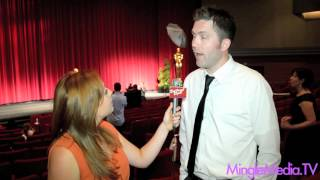 Mark Nelson at the 39th Student Academy Awards Red Carpet